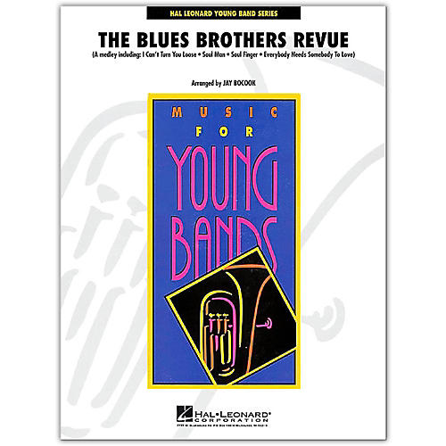 Hal Leonard The Blues Brothers Revue Young Concert Band Level 3
