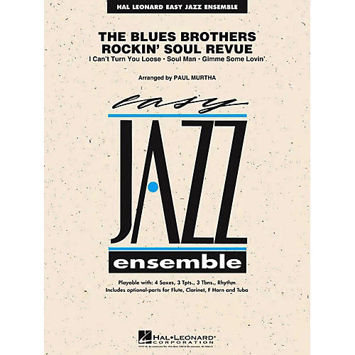 Hal Leonard The Blues Brothers Rockin' Soul Revue Jazz Band Level 2-thumbnail