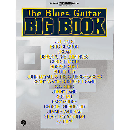 Alfred The Blues Guitar Big Book-thumbnail
