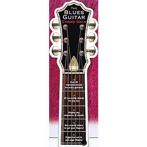 Music Sales The Blues Guitar Chord Deck