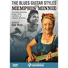 Homespun The Blues Guitar Styles of Memphis Minnie Homespun Tapes Series DVD Performed by Del Rey