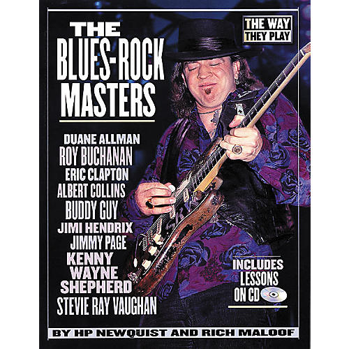 Backbeat Books The Blues-Rock Masters (Book/CD)