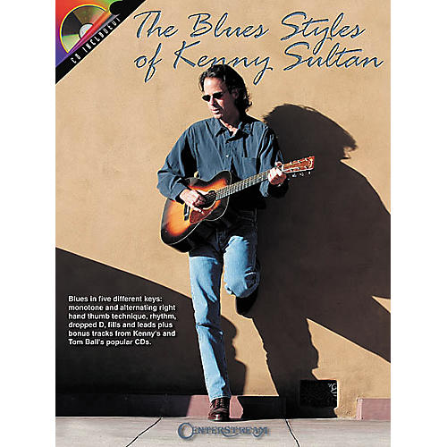Centerstream Publishing The Blues Styles of Kenny Sultan (Book/CD)