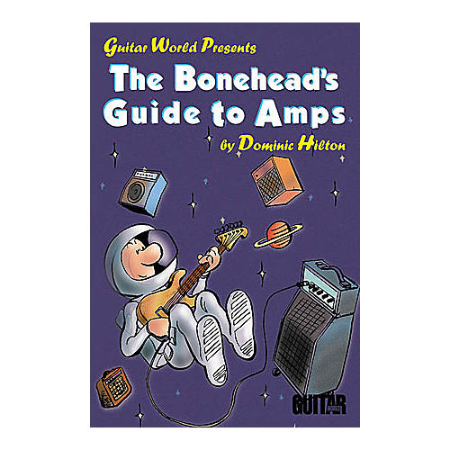 Hal Leonard The Bonehead's Guide to Amps Book-thumbnail