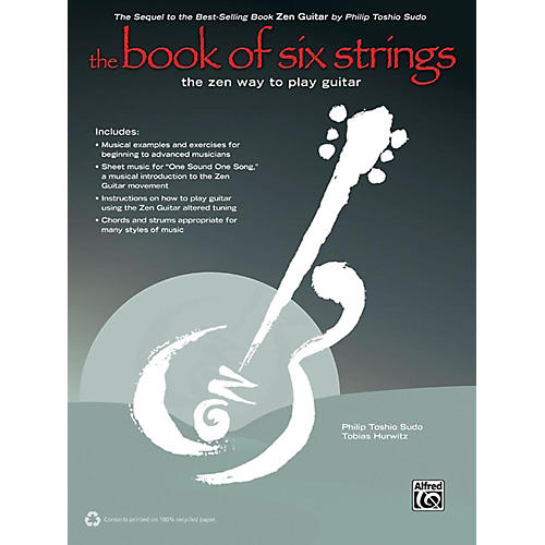 Alfred The Book of Six Strings (2nd Edition) Book & CD-thumbnail