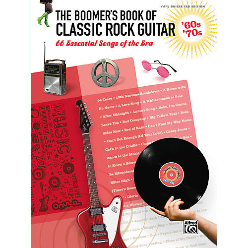 Alfred The Boomer's Book of Classic Rock Guitar '60s - '70s Easy Guitar TAB-thumbnail