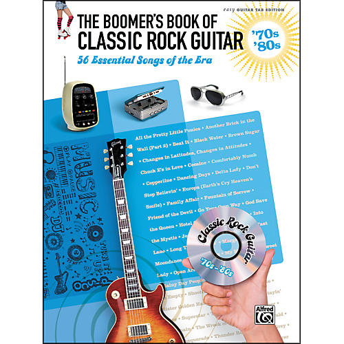 Hal Leonard The Boomer's Book of Classic Rock Guitar '70s - '80s-thumbnail