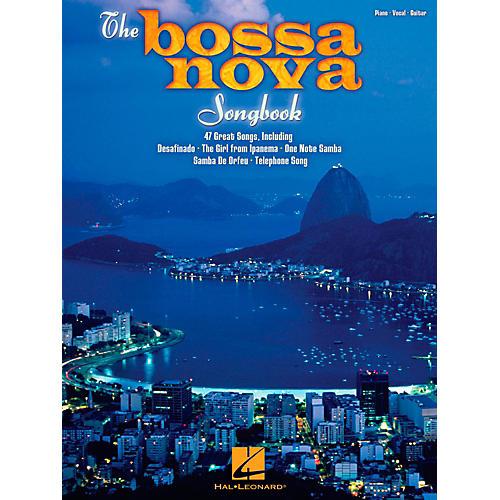 Hal Leonard The Bossa Nova Songbook for Piano/Vocal/Guitar PVG-thumbnail
