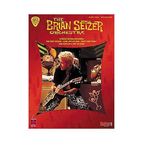 Hal Leonard The Brian Setzer Orchestra Guitar Tab Book
