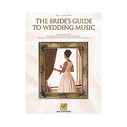 Hal Leonard The Bride's Guide to Wedding Music Piano, Vocal, Guitar Songbook