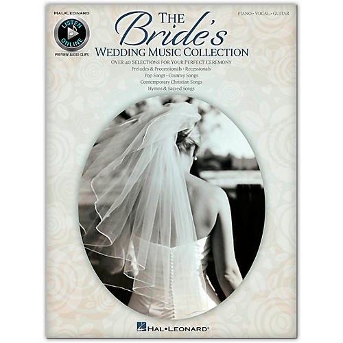 Hal Leonard The Bride's Wedding Music Collection for Piano/Vocal/Guitar (Book/Online Audio)-thumbnail