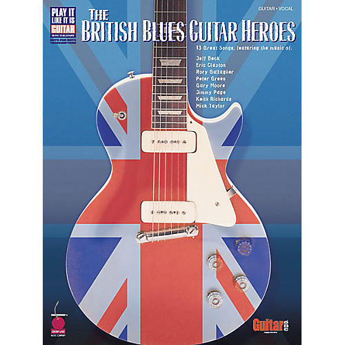 Cherry Lane The British Blues Guitar Heroes Guitar Book-thumbnail