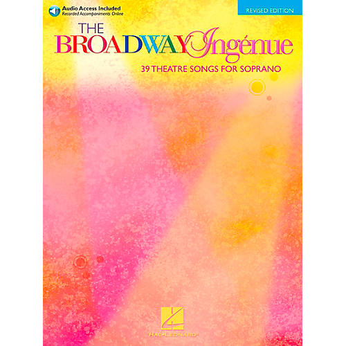 Hal Leonard The Broadway Ingenue - Theatre Songs for Soprano Book/2CD's