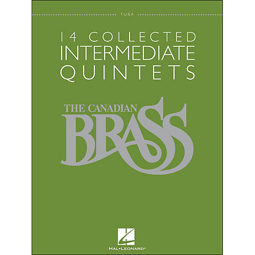 Hal Leonard The Canadian Brass: 14 Collected Intermediate Quintets Songbook - Tuba-thumbnail