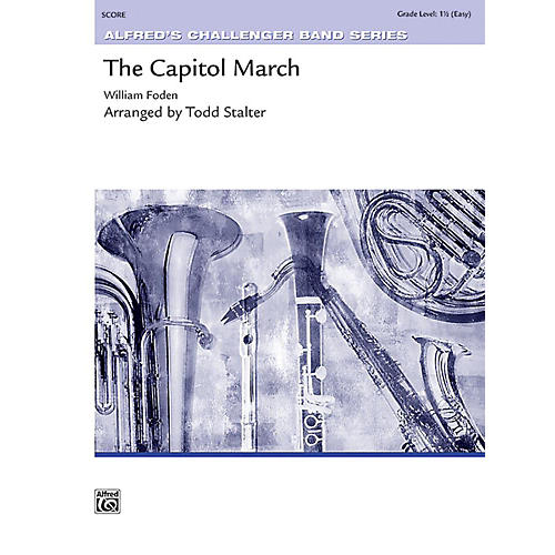 Alfred The Capitol March Concert Band Grade 1.5 Set
