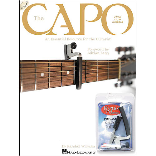 Hal Leonard The Capo - Book with CD & Free Kyser Capo-thumbnail