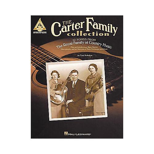 Hal Leonard The Carter Family Collection Guitar Tab Book-thumbnail