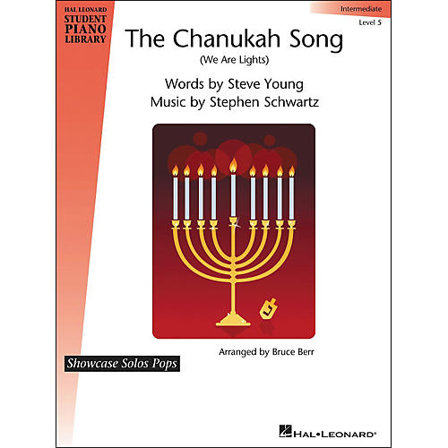 Hal Leonard The Chanukah Song (We Are Lights) Showcase Solos Pops Level 5 Hal Leonard Student Piano Library by Bruce Berr