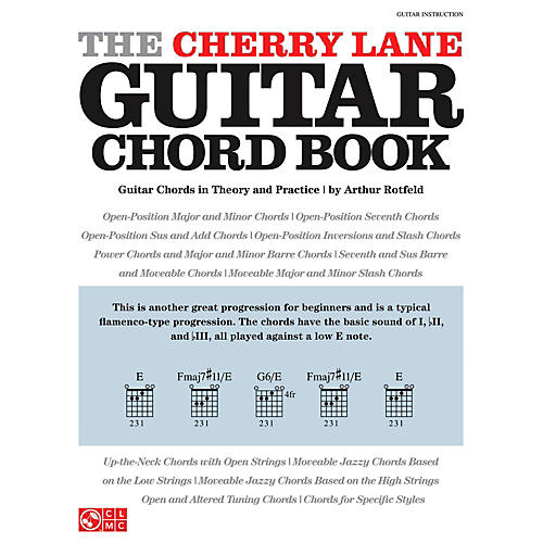 Cherry Lane The Cherry Lane Guitar Chord Book - Guitar Chords In Theory And Practice-thumbnail
