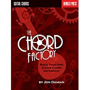 Berklee Press The Chord Factory (Build Your Own Guitar Chord Dictionary) Berklee Guide Series Softcover by Jon Damian