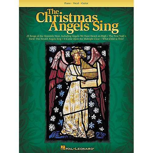 Hal Leonard The Christmas Angels Sing Piano, Vocal, Guitar Songbook
