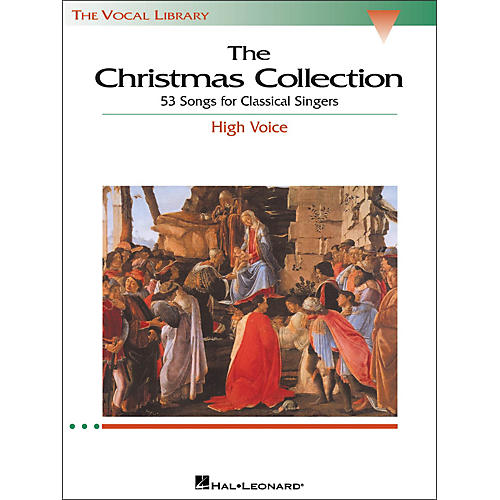 Hal Leonard The Christmas Collection for High Voice (The Vocal Library Series)