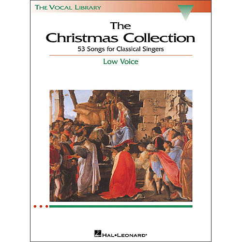 Hal Leonard The Christmas Collection for Low Voice (The Vocal Library Series)-thumbnail