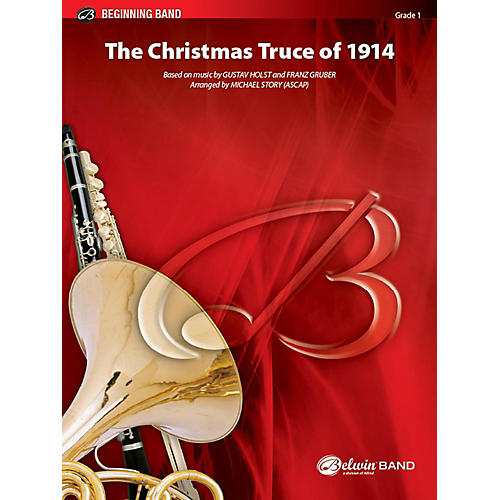 Alfred The Christmas Truce of 1914 Concert Band Grade 1 Set-thumbnail