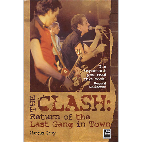 Hal Leonard The Clash - Return Of The Last Gang In Town
