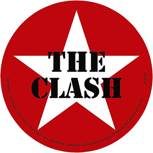 C&D Visionary The Clash Magnet - Star logo-thumbnail