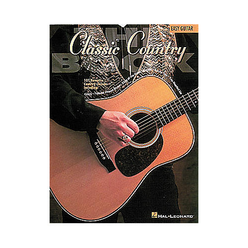 Hal Leonard The Classic Country Book - Guitar Songbook-thumbnail