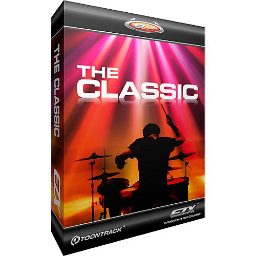 Toontrack The Classic EZX Software Download-thumbnail