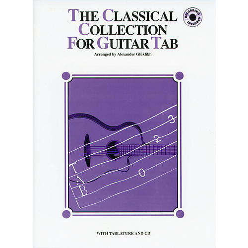Alfred The Classical Collection for Guitar Tab (Book/CD)