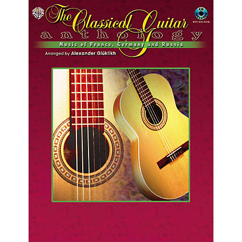 Alfred The Classical Guitar Anthology Book and CD-thumbnail
