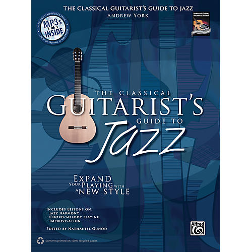 Alfred The Classical Guitarist's Guide to Jazz Book & 3 CDs-thumbnail