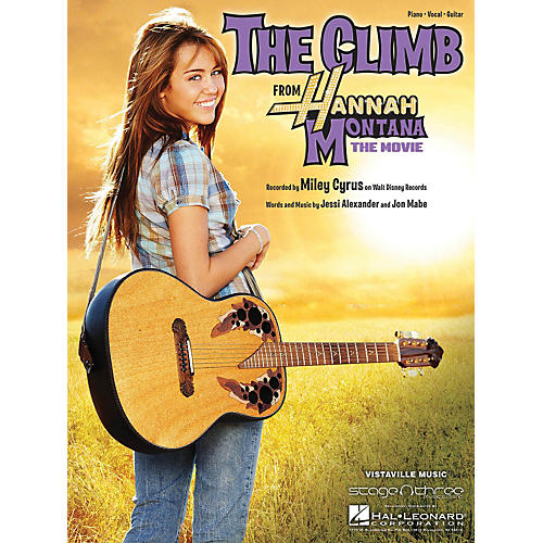 Hal Leonard The Climb by Miley Cyrus arranged for piano, vocal and guitar-thumbnail