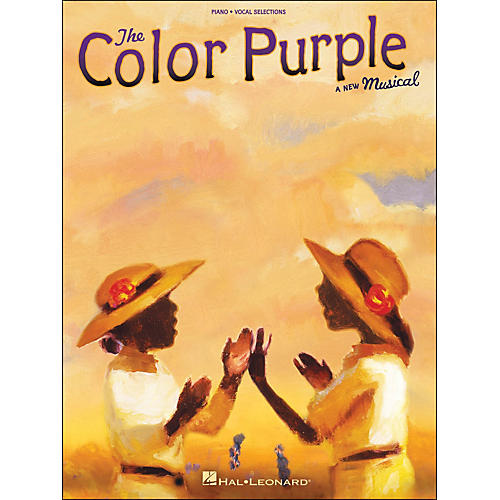 Hal Leonard The Color Purple - A New Musical arranged for piano, vocal, and guitar (P/V/G)-thumbnail