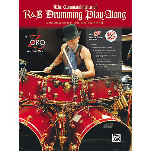 Alfred The Commandments of R&B Drumming Play-Along - by Zoro (Book/CD)-thumbnail