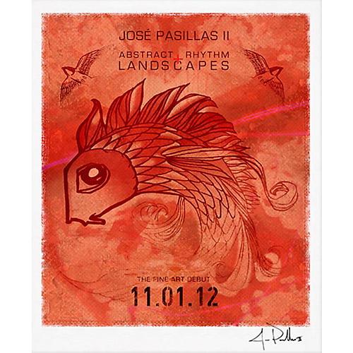Jose Pasillas' Drum Art The Commemorative Art Print by SceneFour-thumbnail