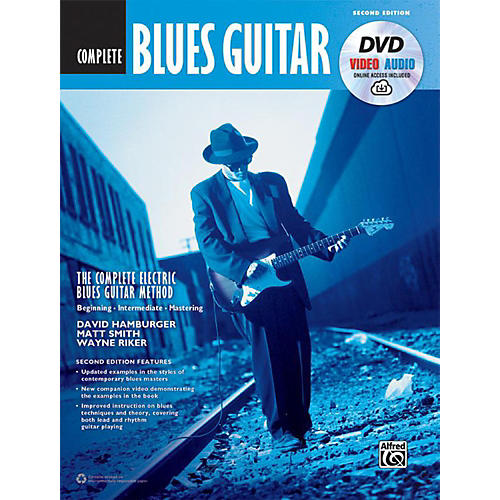Alfred The Complete Blues Guitar Method: Complete Edition (Second Edition) - Book, DVD & Online Audio & Video-thumbnail