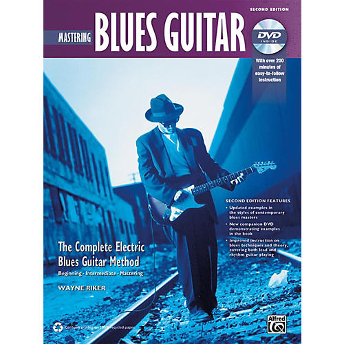 Alfred The Complete Blues Guitar Method: Mastering Blues Guitar Book & DVD (2nd Edition)-thumbnail