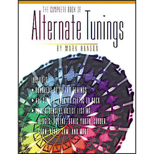 Music Sales The Complete Book of Alternate Tunings (Book)-thumbnail