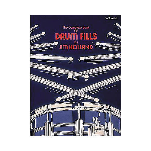 Hal Leonard The Complete Book of Drum Fills Book