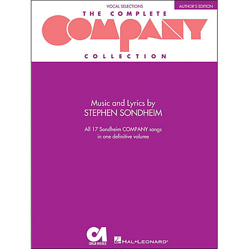 Hal Leonard The Complete Company Collection - Author's Edition Revised arranged for piano, vocal, and guitar (P/V/G)-thumbnail