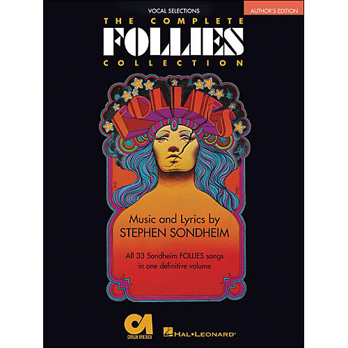 Hal Leonard The Complete Follies Collection Vocal Selections Authors Edition arranged for piano, vocal, and guitar (P/V/G)-thumbnail