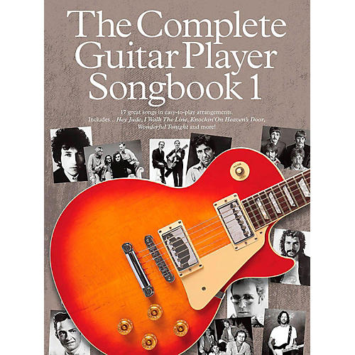Music Sales The Complete Guitar Player - Songbook 1-thumbnail