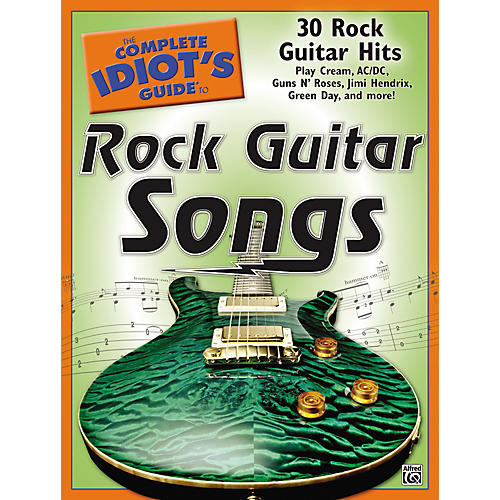 Alfred The Complete Idiot's Guide To Rock Guitar Songs Book-thumbnail
