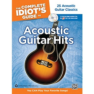 Alfred The Complete Idiot's Guide to Acoustic Guitar Hits Tab Book/ 2 CDs by Alfred