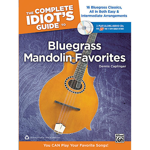 Alfred The Complete Idiot's Guide to Bluegrass Mandolin Favorites Book & 2 CDs-thumbnail