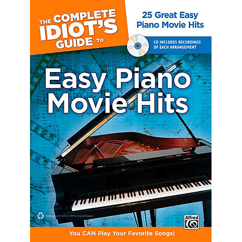 Alfred The Complete Idiot's Guide to Easy Piano Movie Hits Book & CD-thumbnail